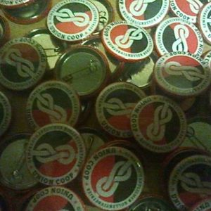 Button »Union Coop«