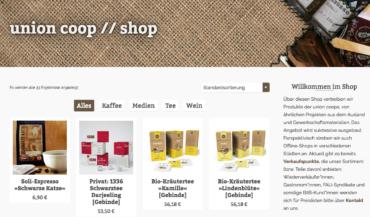Unser Shop ist online!