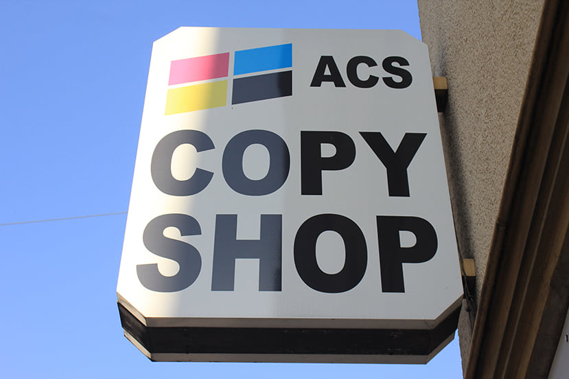 Bonn: Kollektiv »ACS Copy Service« geht an den Start!